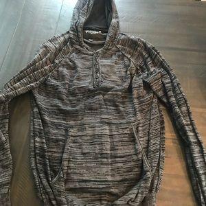 Guess light sweater. XL. Grey & Black marl print